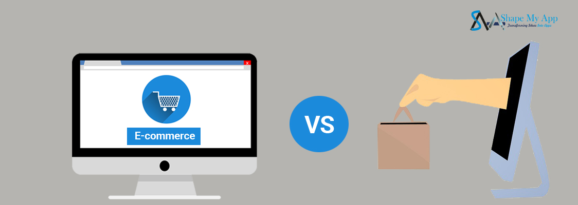 How e-commerce is different from e-business.