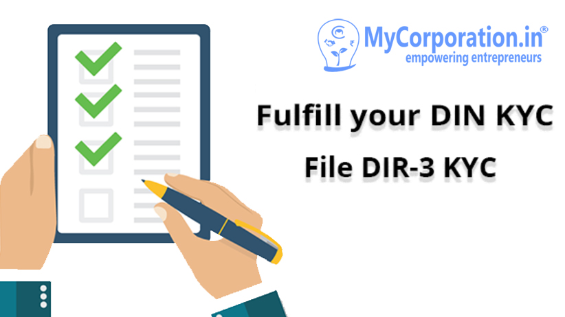 Whether it is mandatory for a person to have DSC to file DIR-3 KYC